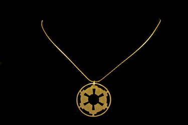 Empire Logo Necklace by obsidiandevil