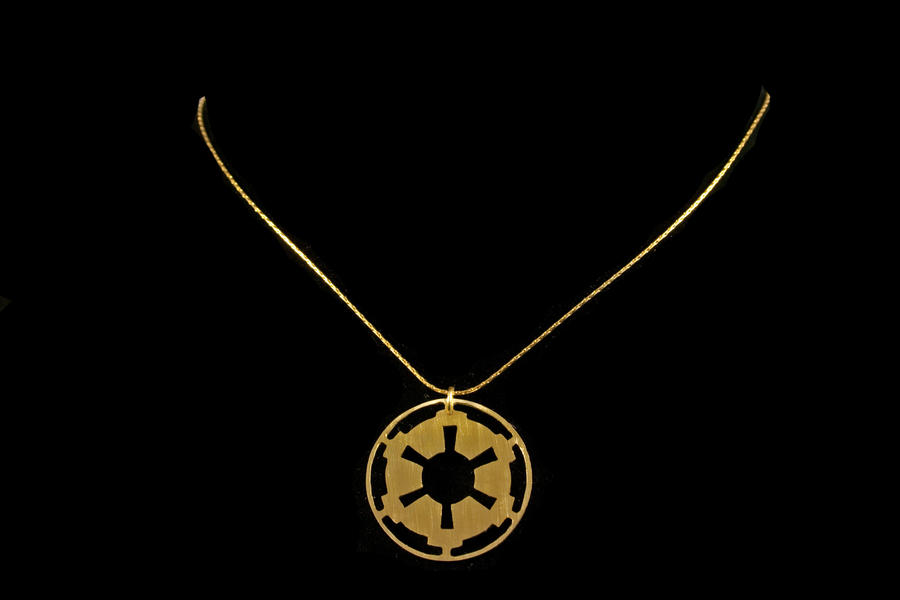 Empire Logo Necklace by obsidiandevil
