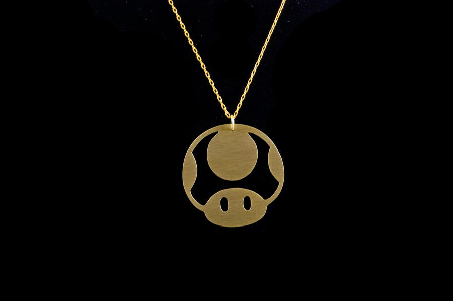 1up mario mushroom pendant by obsidiandevil on deviantart 1up mario mushroom pendant by obsidiandevil mozeypictures Images