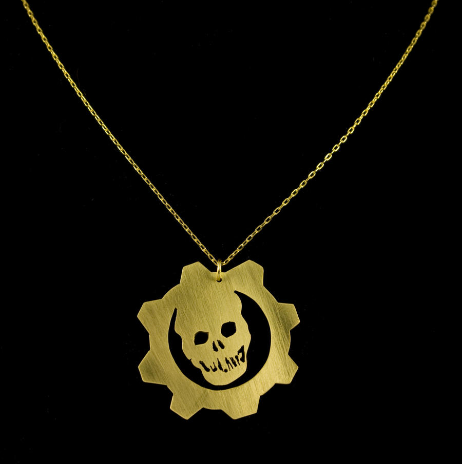 Gears of War Pendant by obsidiandevil