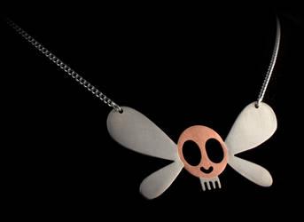 Parasprite Necklace by obsidiandevil