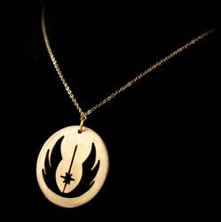 Re-Design Jedi Symbol Pendant by obsidiandevil
