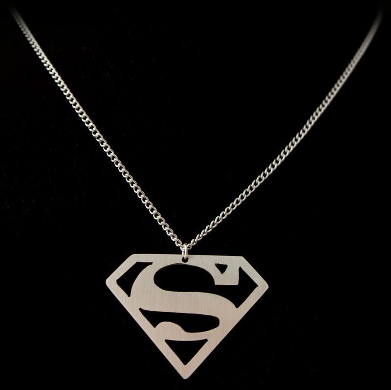 Superman Pendant by obsidiandevil