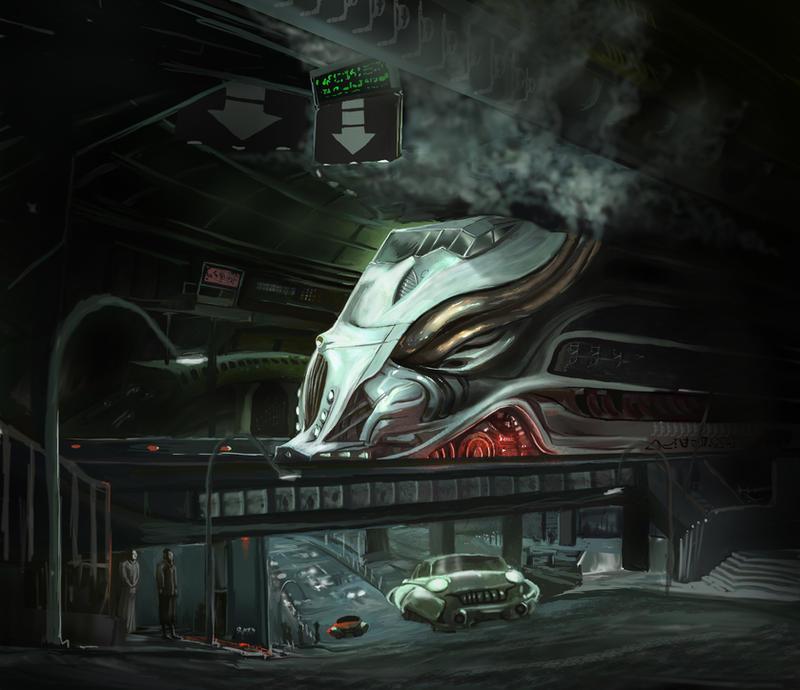 EOW 150: Steampunk Train Station - OPEN FOR VOTES! (Winner: Matt Kohr)