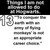 Hogwarts Rules 13 by deviant-ART-lover