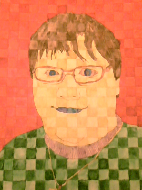 Self Portrait 1 by DeviantSponge45