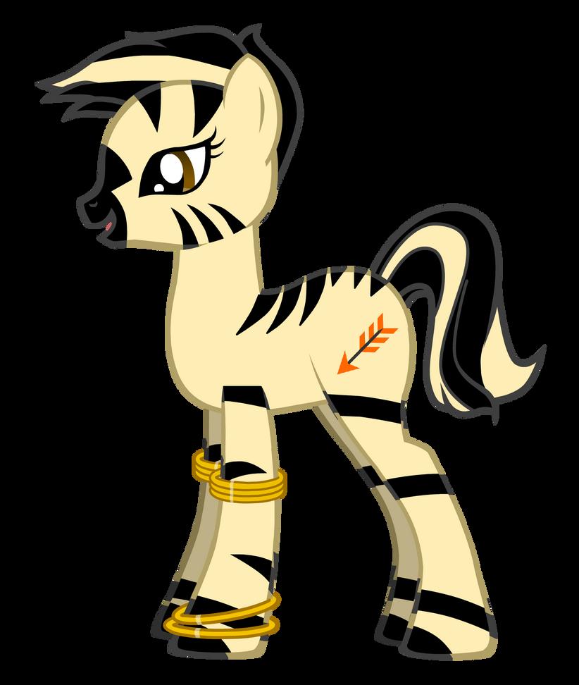 My Little Pony - Amber Arrow by DeviantSponge45