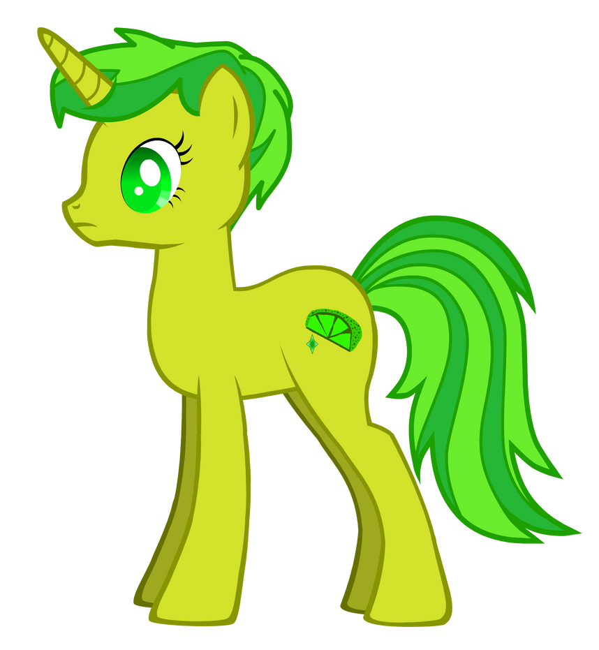 My Little Pony - Lime Shimmer by DeviantSponge45