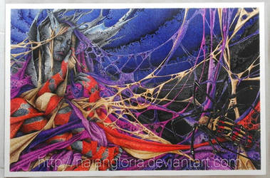 The Weaving Weaver (Ballpoint pen) by naiangloria