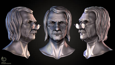 The Professor Head Closeup