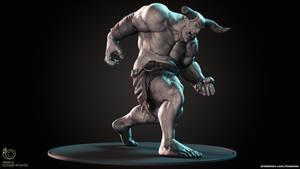 The Minotaur Action Figure