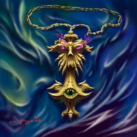 Amulet of Saroo by MichaelSyrigos