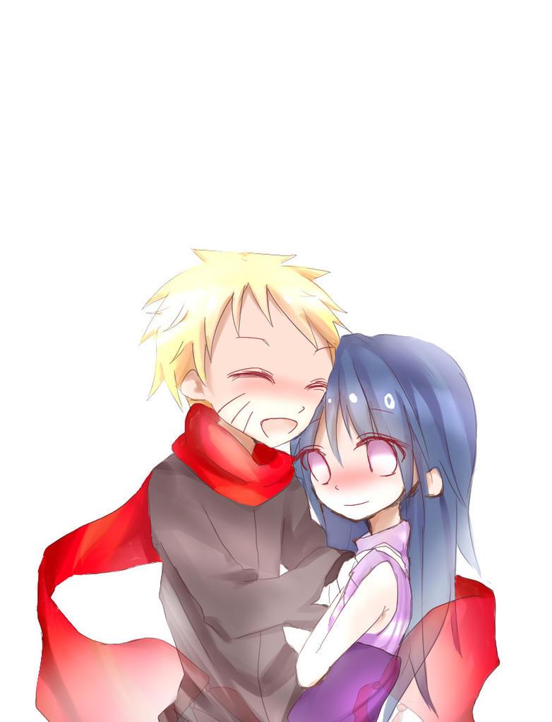 Naruto and Hinata by Kiwi009