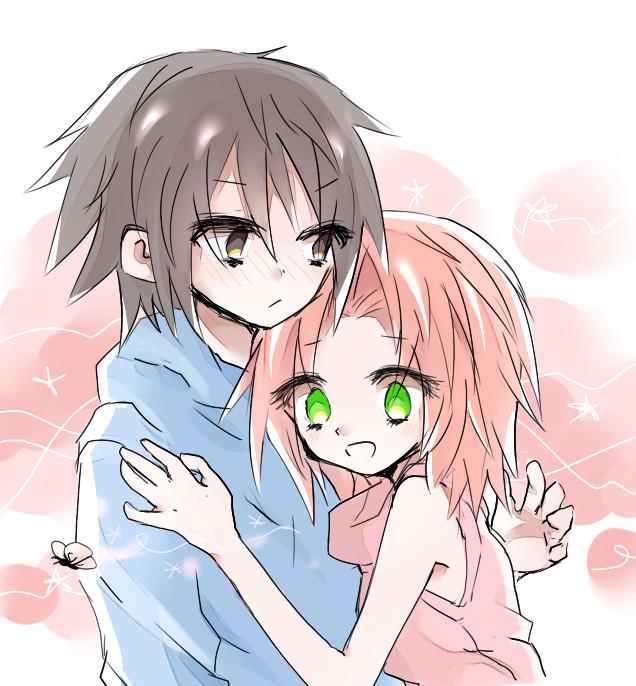 Sasuke and Sakura by Kiwi009