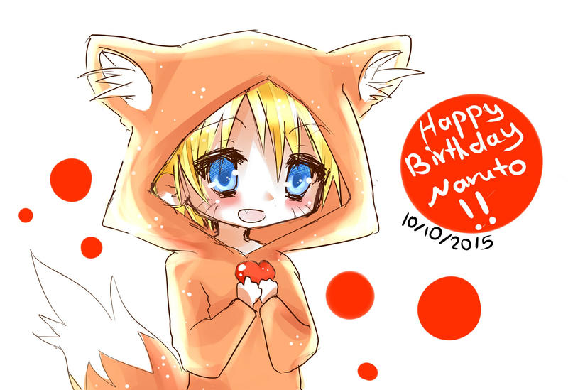 Naruto's Birthday 10\10 by Kiwi009