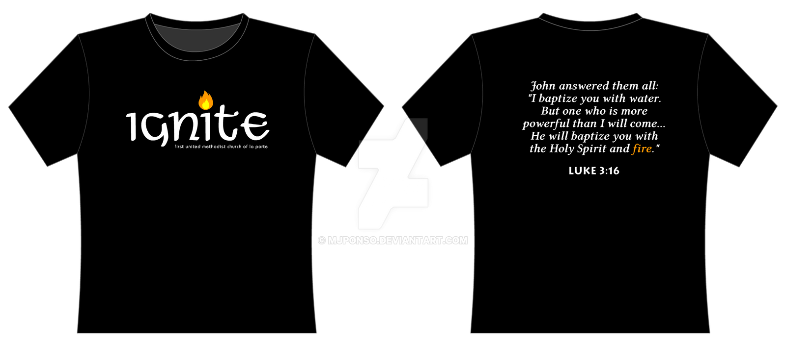 T shirt design youth -  Ignite T Shirt Design By Mjponso