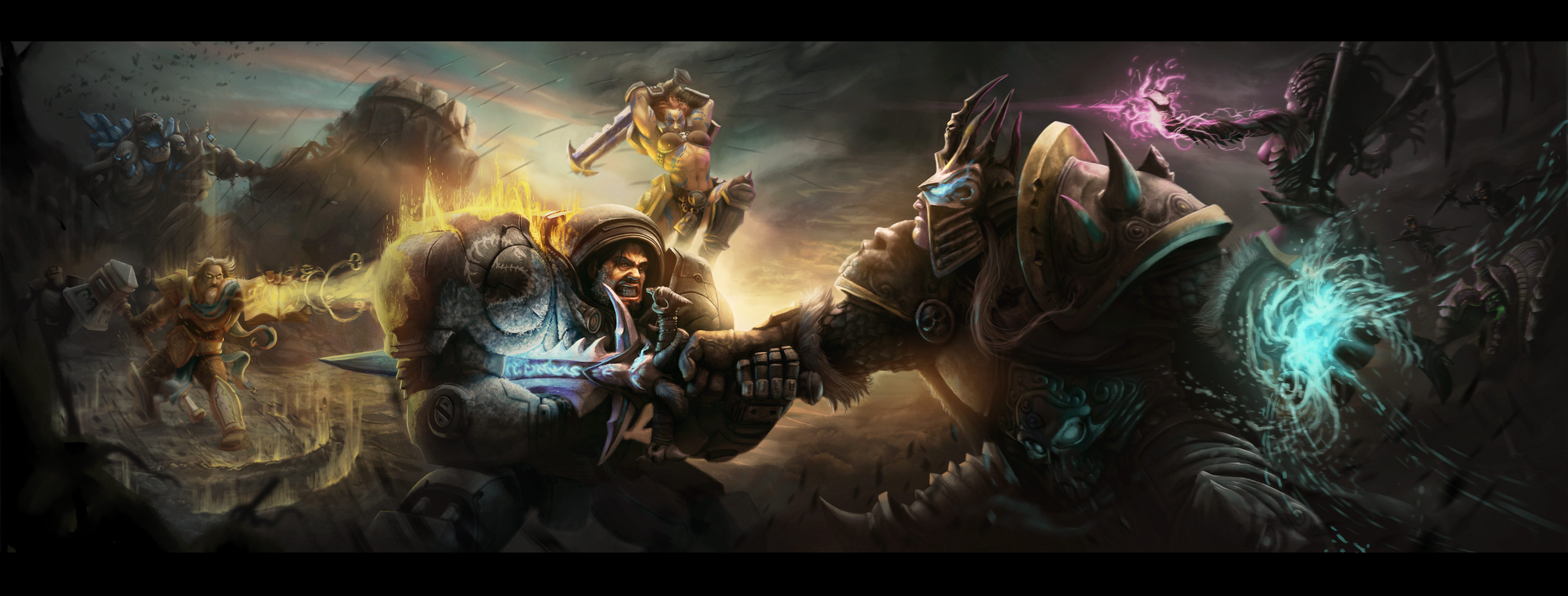 heroes of the storm battle for the haunted mines by splinterD