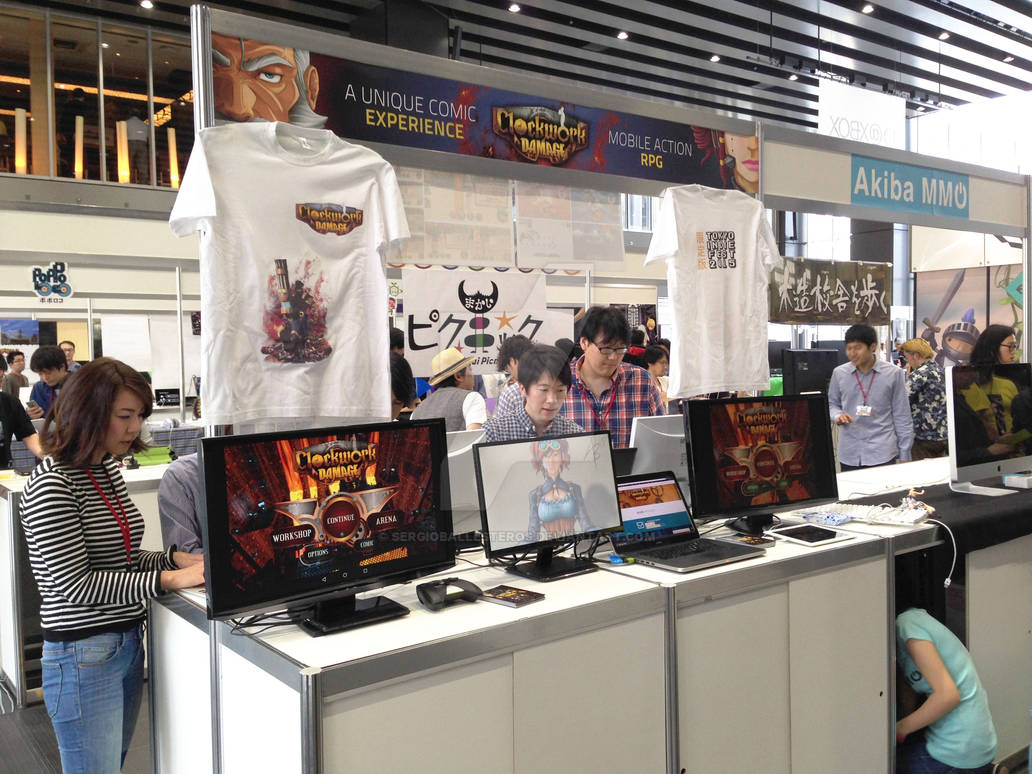 HAIL Studios was at Tokyo Indie Fest!!!