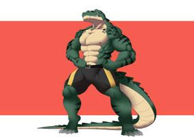 [New Character] Gaster Alligator