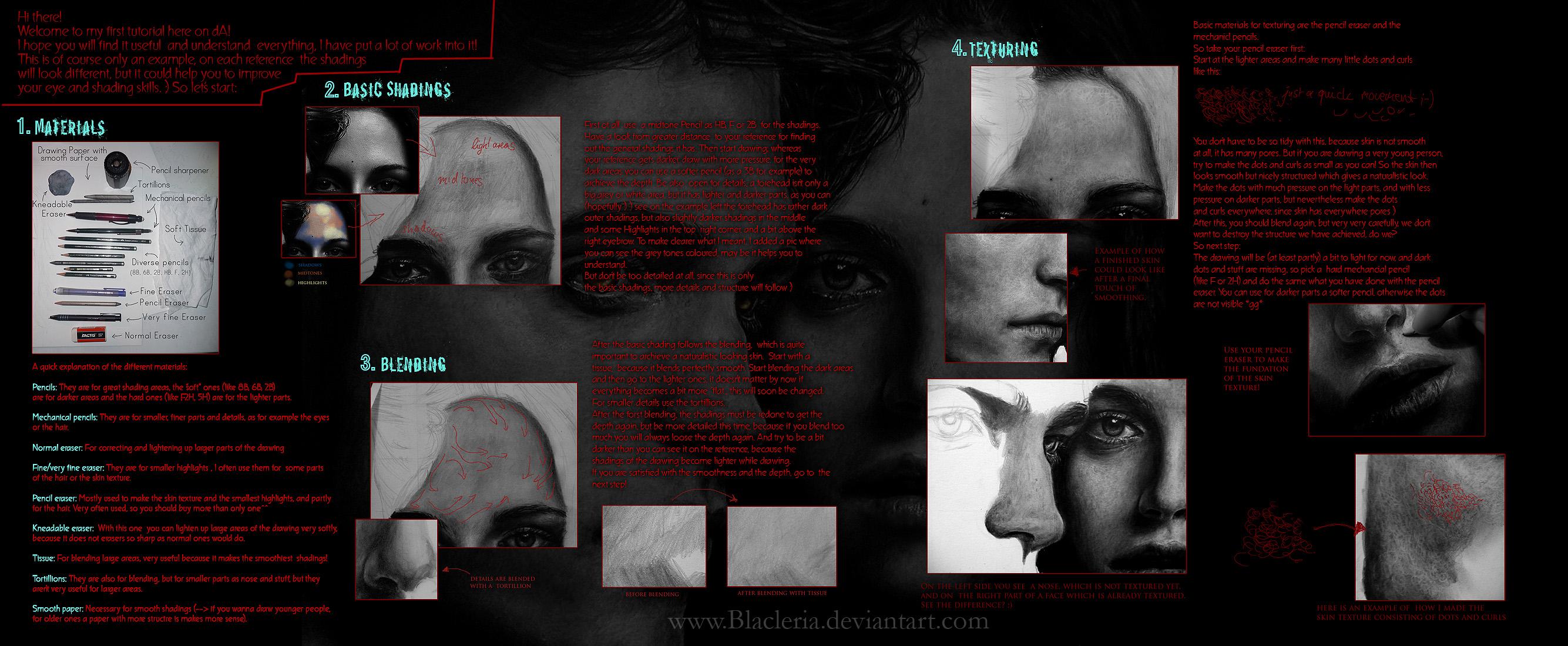 ShadingTexturing Tutorial by Blacleria