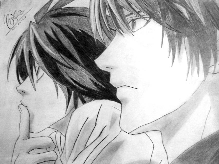 Death Note Draw by ~Yukilina