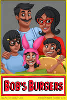 Bob's Burgers by BlitheDragon