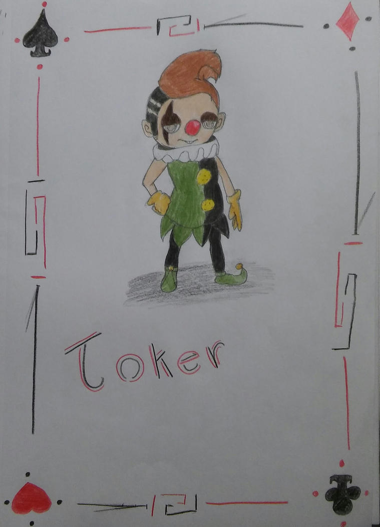 Joker by occultfur