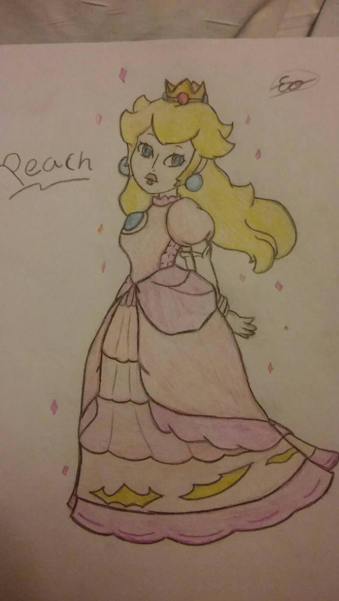Princess Peach. by occultfur