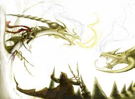 Dragons by PhillyBoyWonder