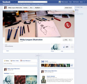 My new Facebook page!