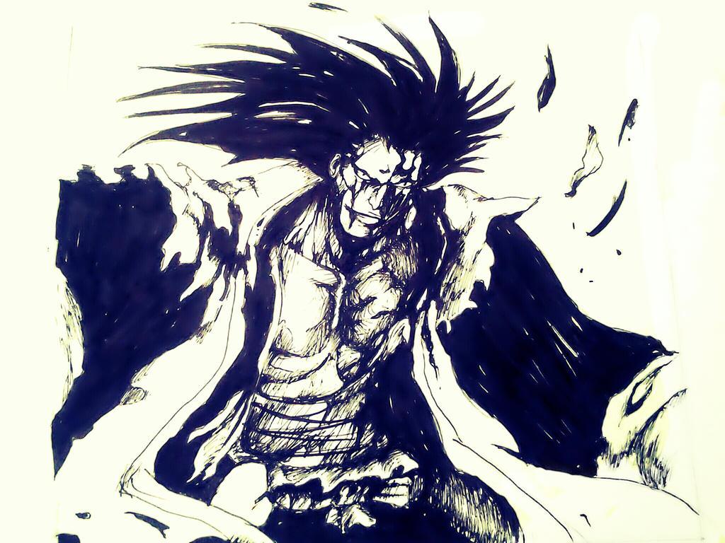 Zaraki Kenpachi Bleach By Myway8D