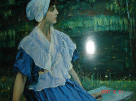 Oil Painting II by curryQ