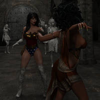 Wonder Woman Stoned Pt 1 by Martiandawn