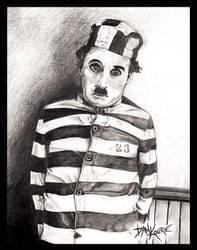 Chaplin The Adventurer by DanKourieArt