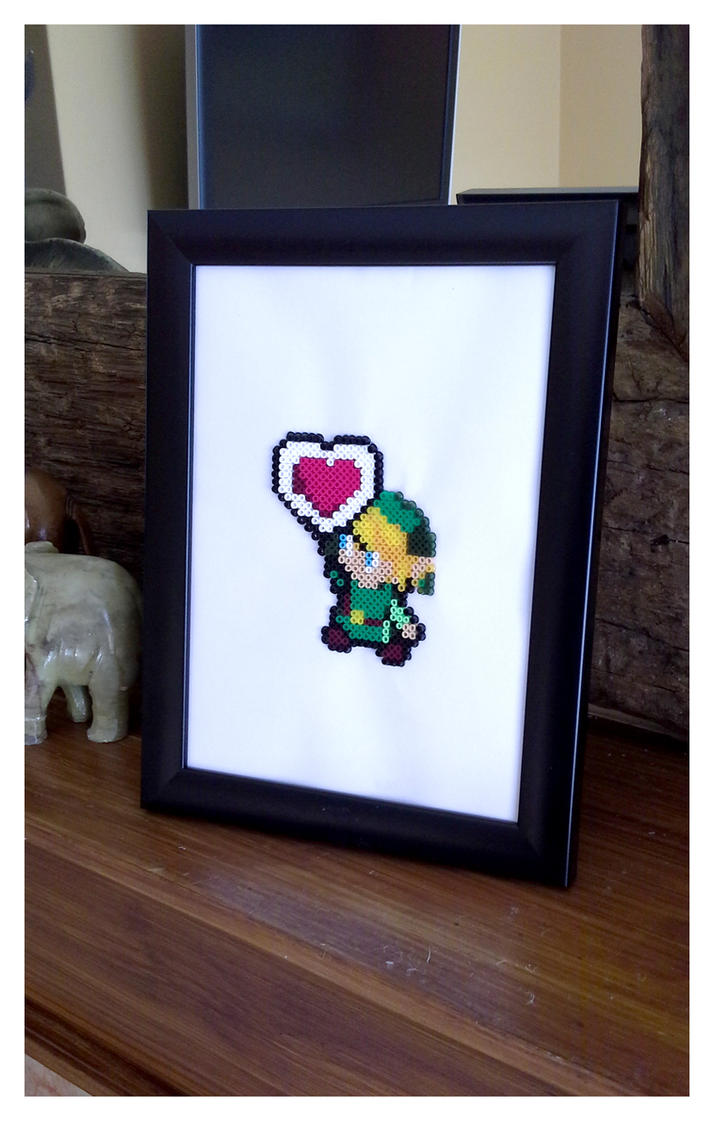 Legend of Zelda Link Pixel Art by CharlesonofCharles
