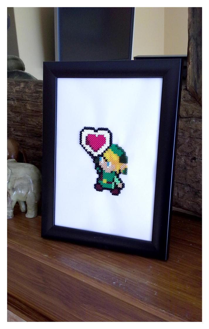 Legend of Zelda Link Pixel Art by CharlesonofCharles