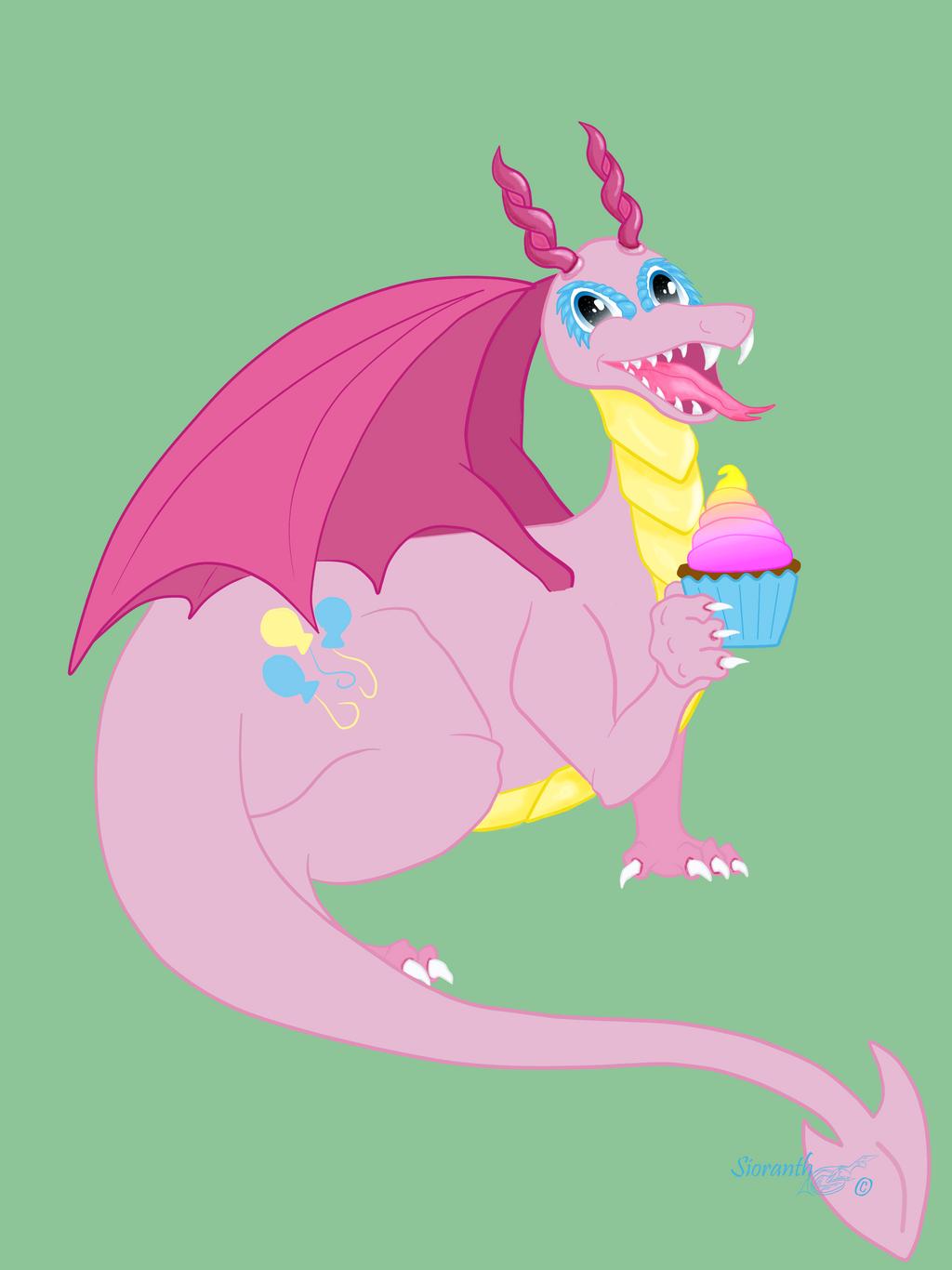 MLP Dragon Pinkie Pie WIP by sioranth