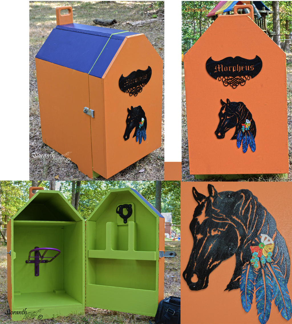 Tack Box by sioranth