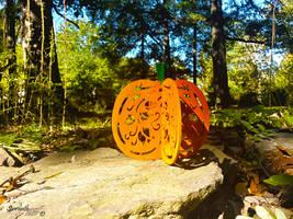 3D Victorian Pumpkin by sioranth