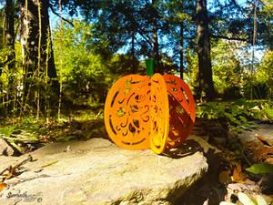 3D Victorian Pumpkin