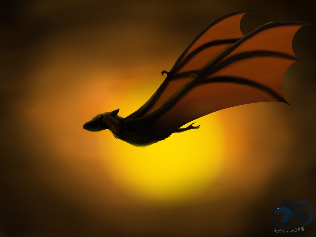 Flying Fox (FANART) by kittygirlxjanax
