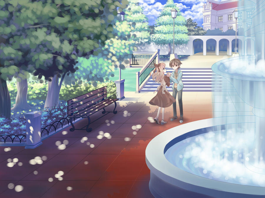 Promise at the Fountain of Wishes by Hokage3