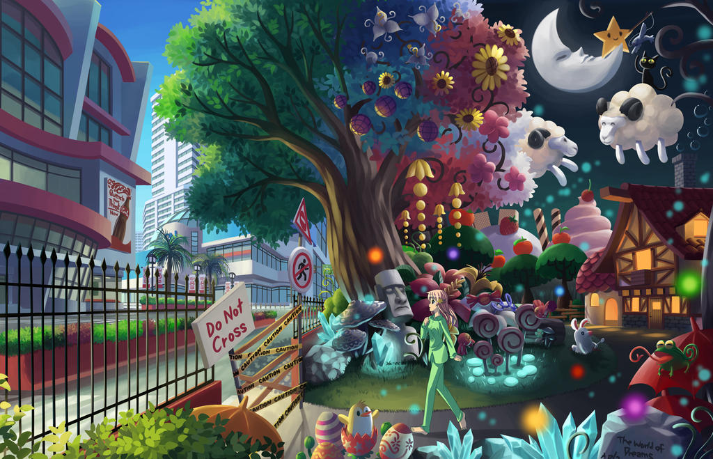 Outside the World of Dreams by Hokage3