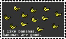 banana stamp by xxx-sasuke-xxx