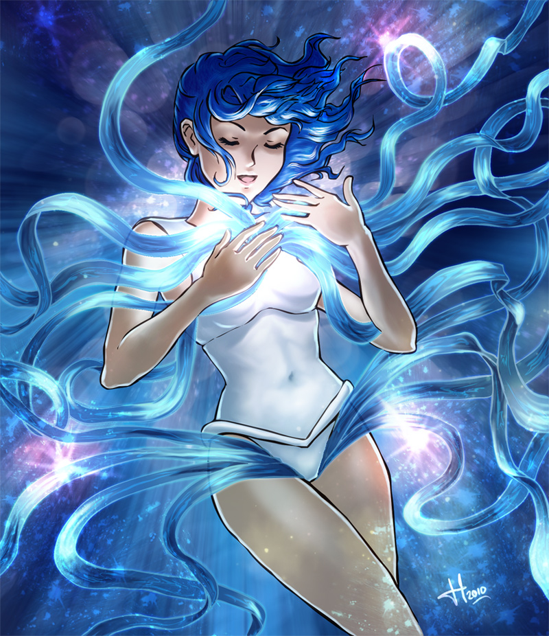 Sailor Mercury Transformation by El-Chupacabras