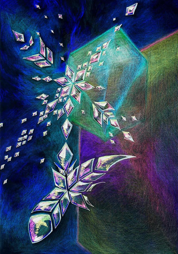 Colorful Crystals by El-Chupacabras