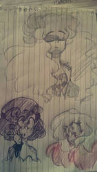 Some October doodles by SkectchyPencil