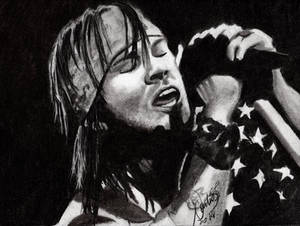 Axl Rose quick sketch