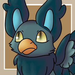 Sea Blue Griffin (Toyhouse Character Icon) by FluffyFoxOfFate