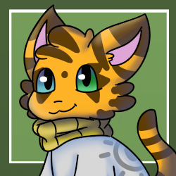 Sweater Cat (Toyhouse Character Icon) by FluffyFoxOfFate